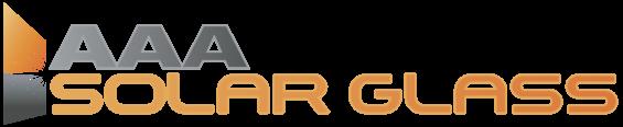 AAA Solar Glass - Logo